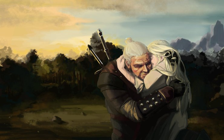 743e9-ciri_and_geralt_by_dragonlizzard-d8ufyfs